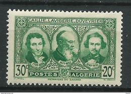 Timbre Algérie Caillie, Lavigerie, Duveyrier YT N°149 Neuf ** - Neufs