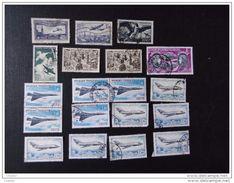 France  Lot De 19 Timbres PA Oblit. MH* Sans Gomme  N° 6, 9, 16, 18, 24, 42, 43, 47 - Airmail
