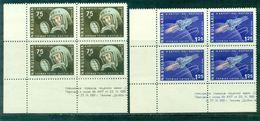 BULGARIE PA 83 / 84 Blocs De 4 C De F N° Xx Titov / Vostok 2 Tb Cote 44 € - Bulgaria