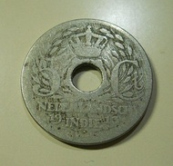 Netherlands East Indies 5 Cents 1913 - Dutch East Indies