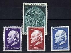 !!! MONACO POSTES AERIENNES 1973 ET 1974 NEUVES ** - Poste Aérienne