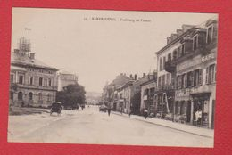 Sarrebourg  -- Faubourg De France--  écriture Au Dos - Sarrebourg