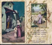 CALENDARIETTO RELIGIOSO: ANNO 1936 - OSPIZIO MARINO - ALESSANDRIA D'EGITTO - Mm. 65 X 112 - ED. NB N. 19 DEP. - Religione & Esoterismo