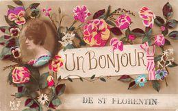 89-SAINT-FLORENTIN- UN BONJOUR - Saint Florentin