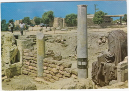 Caesarea - Ruins Of A Byzantic Public Building With Roman Statuary - (Israel) - Israël