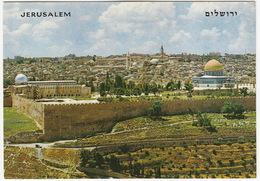 Jerusalem - Vieille Ville / Seen From Mt. Of Olives - (Israel) - Israël