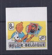 Belgie - Belgique 1944  KUIFJE - TINTIN -  ONGETAND - NON DENTELE - Philabédés