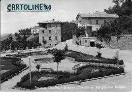 Emilia Romagna-modena-montese Veduta Giardini Pubblici Montese Primi Anni 50 - Autres Villes