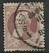 Belgium, 1905, 35 Cents, Used - 1905 Thick Beard
