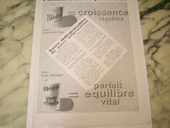 ANCIENNE PUBLICITE BLEDINE ET BLECAO DE JACQUEMAIRE  1932 - Posters