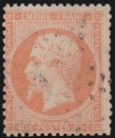 France   .    Yvert  .   23       .      O   .     Oblitéré - 1862 Napoleon III