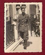 2 FOTO UNA DI MILITARE CON CROCE DI GHIACCIO RUSSIA  ALTRA SCATTATA IN ROMANIA 1941 - Guerra 1939-45