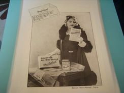ANCIENNE PUBLICITE BISCOTTE HEUDEBERT - Posters