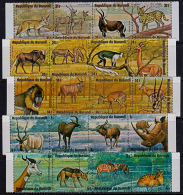 B0712 BURUNDI 1971, African Animals, 1st Series MNH - Burundi