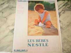 ANCIENNE PUBLICITE BEBE NESTLE - Posters