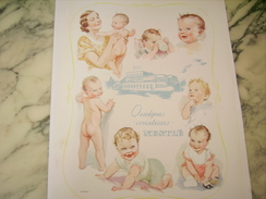 ANCIENNE PUBLICITE BEBE NESTLE CREATION 1939 - Posters