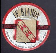 ETIQUETTE LE BLASON, - Fromage
