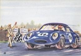 CPM - LES 24 HEURES DU MANS - CARTE ILLUSTREE - Edition PUB Mutuelles Du MANS - Le Mans