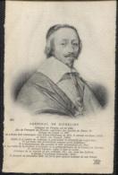 CPA - CARDINAL DE RICHELIEU - PORTRAIT - Edition N.D.Photo - History