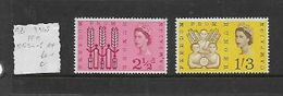 Great Britain,Elizabeth II, 1963 Freedom From Hunger, Set Of 2, MNH ** - 1952-.... (Elizabeth II)