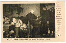 La Fatale Nouvelle, Par Bource, Musée Mod. Bruxelles (pk35409) - Musées