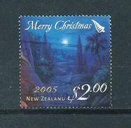 2005 New Zealand $2.00 Christmas,kerst,noël,weihnachten Used/gebruikt/oblitere - Nieuw-Zeeland