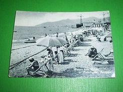 Cartolina Riviera Delle Palme - Pietra Ligure - Spiaggia 1958 - Savona