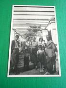 Cartolina Trani - Villa Turrisana - Foto Di Gruppo 1938 - Bari