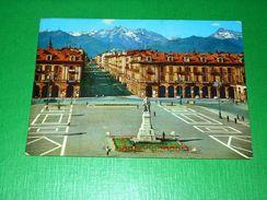 Cartolina Cuneo - Piazza Duccio Galimberti E Corso Nizza 1977 - Cuneo
