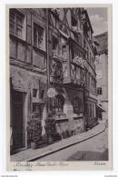 DT- Reich (000184) Propaganda AK Nürnberg Hans Sachs Haus Gelaufen Mit Sonderstempel Von Nürnberg Am 10.9.1938 - Briefe U. Dokumente