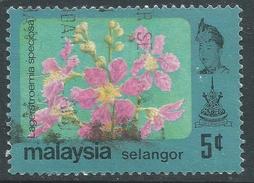 Selangor(Malaysia). 1979 Flowers. 5c Used. SG 160 - Malaysia (1964-...)