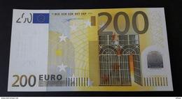 AUSTRIA 200 Euro 2002 Duisenberg  Letter N UNC Print Code G001 F3 N00841292508 - 200 Euro