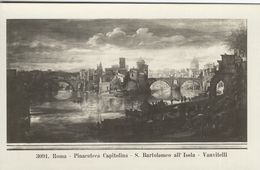 Roma - Pinacoteca Capitolina  - S. Battolomeo All`Isola.   Vanvitelli   Italy.  S-3632 - Roma (Rome)