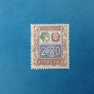 2004 ITALIA FRANCOBOLLO USATO STAMP USED - ALTO VALORE SERIE ORDINARIA 2,80 - - 6. 1946-.. Repubblica