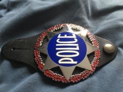 Police Insigne étoile Vintage - Police