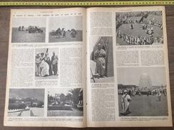 ENV 1924 LE SAHARA CROISIERE EN AUTO AU PAYS DE LA SOIF MOSQUEE A TIMIMOUN OASIS CITE BENI OUNIF BENI ABBES - Collections