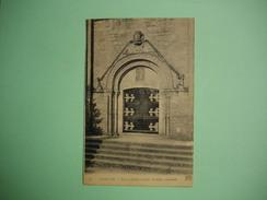 SAINT LO  -  50  -  Eglise Sainte Croix  -  Portail Occidental  -  MANCHE - Saint Lo