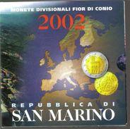 SAN MARINO 2002 Divisionale Ufficiale  Fdc  TOP PRICE - San Marino