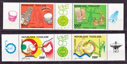 Togo PA 569A 571A  Philexafrique 3 Neuf **TB  Mnh Cote  14 - Togo (1960-...)
