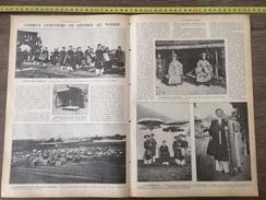 ENV 1924 CURIEUX CONCOURS DE LETTRES AU TONKIN NAM DINH - Oude Documenten