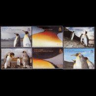 SOUTH GEORGIA 2005 - Scott# 328-33 Penguins Set Of 6 MNH - Géorgie Du Sud