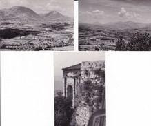 CAMERINO - MACERATA  LOTTO DI 9 FOTO DEL 1969 -1975 E 1979 - CON DIDASCALIA SUL RETRO - Lieux
