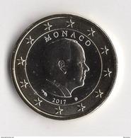 1 EURO  MONACO 2017  ALBERT II  / NEUVE - Mónaco