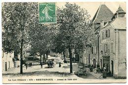 BRETENOUX - Avenue De Saint-Céré - Voir Scan - Bretenoux
