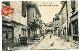 BRETENOUX - Rue Des Porches - Voir Scan - Bretenoux
