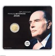 """France 2016 : 2€ Commémorative BU """"Mitterrand """" - DISPONIBLE - Francia"""
