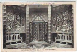 75. PARIS . EXPOSITION INTERNATIONALE DES ARTS DECORATIFS . PARIS 1925 . PAVILLON DE LA POLOGNE . SALON D'HONNEUR - Esposizioni