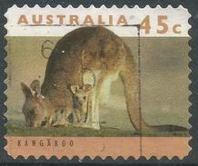 Australia. 1992 Australian Wildlife (2nd Series). 45c (Self Adhesive) Used SG 1454 - Used Stamps