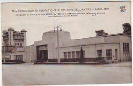 75. PARIS . EXPOSITION INTERNATIONALE DES ARTS DECORATIFS . PARIS 1925 . PAVILLON DE NANCY ET L'EST DE LA FRANCE - Tentoonstellingen