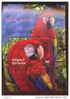 ANTIGUA & BARBUDA   2397  MINT NEVER HINGED SOUVENIR SHEET OF BIRDS ; MACAU , RAIN FOREST - Unclassified